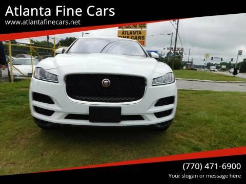 2017 Jaguar F-PACE for sale at Atlanta Fine Cars in Jonesboro GA