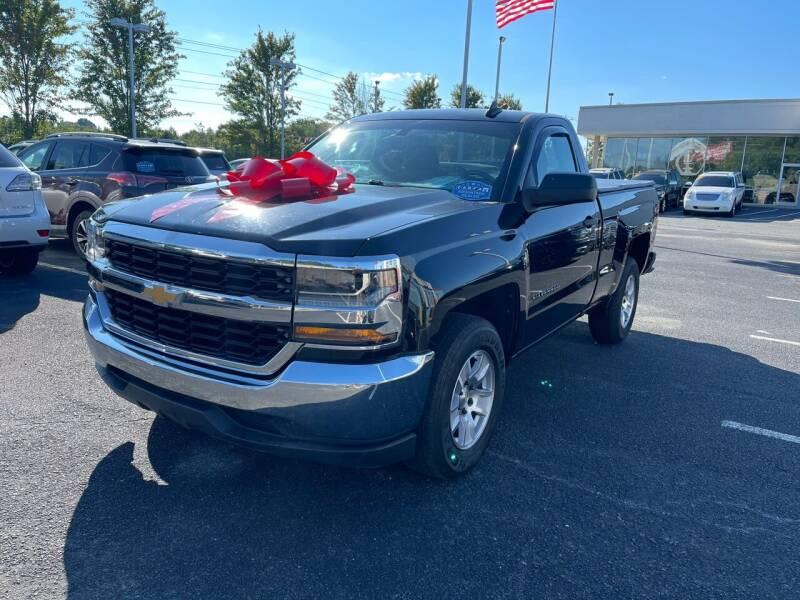 2017 Chevrolet Silverado 1500 for sale at Charlotte Auto Group, Inc in Monroe NC