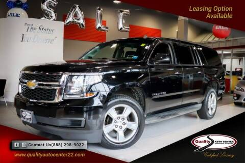 2015 Chevrolet Suburban for sale at Quality Auto Center of Springfield in Springfield NJ