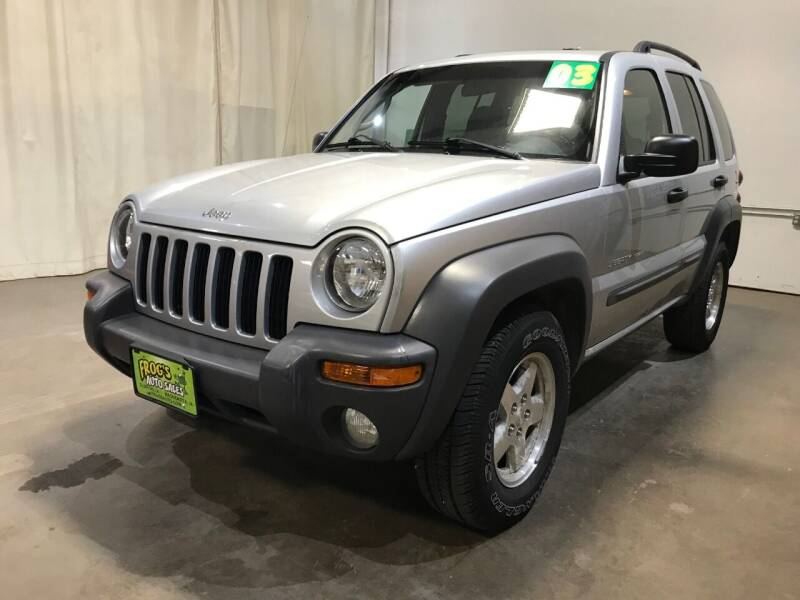 2003 Jeep Liberty for sale at Frogs Auto Sales in Clinton IA