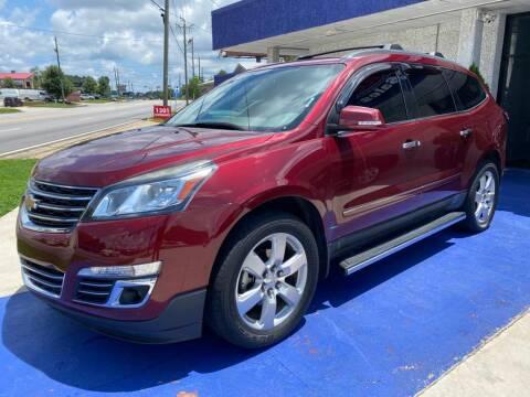 2016 Chevrolet Traverse for sale at El Camino Auto Sales in Gainesville GA