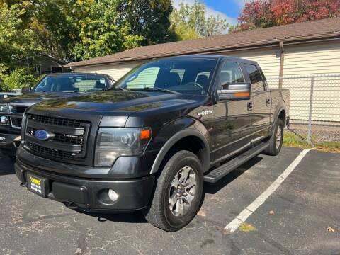 2013 Ford F-150 for sale at Chinos Auto Sales in Crystal MN