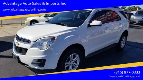 2013 Chevrolet Equinox for sale at Advantage Auto Sales & Imports Inc in Loves Park IL