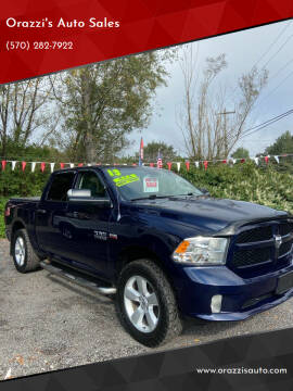 2013 Dodge Ram Pickup 1500 for sale at Orazzi's Auto Sales in Greenfield Township PA