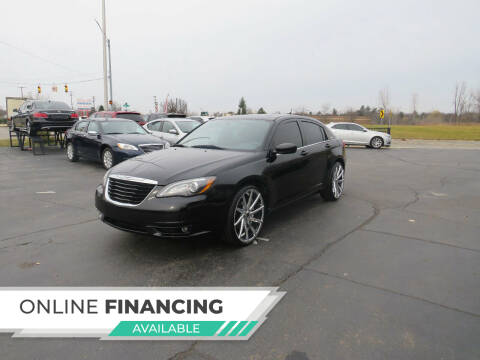 2013 Chrysler 200 for sale at A to Z Auto Financing in Waterford MI