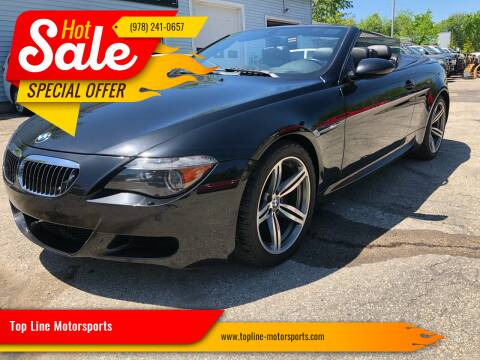 2007 BMW M6 for sale at Top Line Motorsports in Derry NH