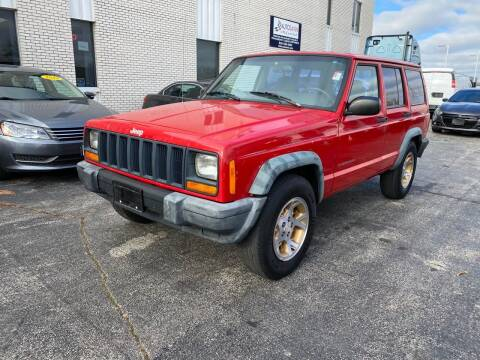 1997 Jeep Cherokee for sale at AUTOSAVIN in Elmhurst IL