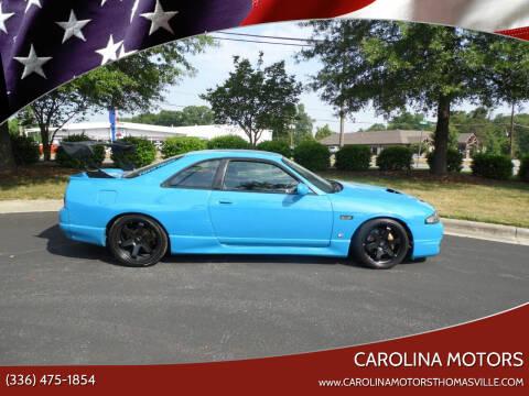 1995 Nissan Skyline GT for sale at CAROLINA MOTORS in Thomasville NC