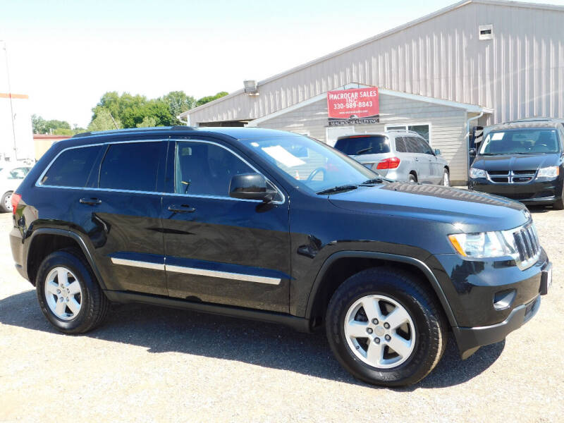 2012 Jeep Grand Cherokee for sale at Macrocar Sales Inc in Akron OH
