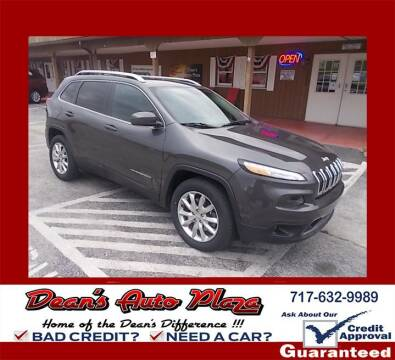 2017 Jeep Cherokee for sale at Dean's Auto Plaza in Hanover PA