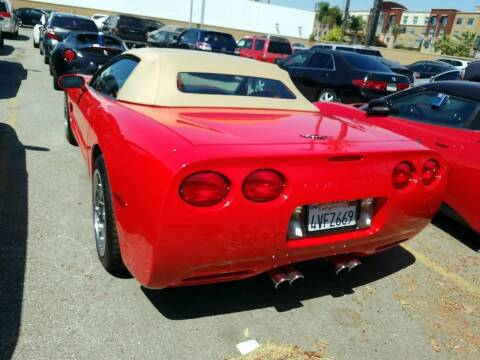 1998 Chevrolet Corvette for sale at MCHENRY AUTO SALES in Modesto CA