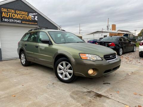 2007 Subaru Outback for sale at Dalton George Automotive in Marietta OH