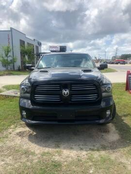 2016 RAM Ram Pickup 1500 for sale at Gralin Hampton Auto Sales in Summerville SC