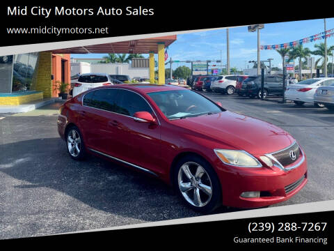 2010 Lexus GS 350 for sale at Mid City Motors Auto Sales in Fort Myers FL