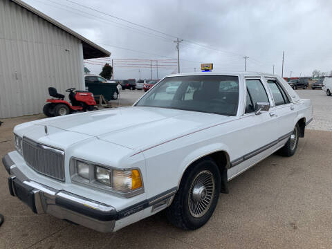 1989 Mercury Grand Marquis for sale at Family Car Farm in Princeton IN