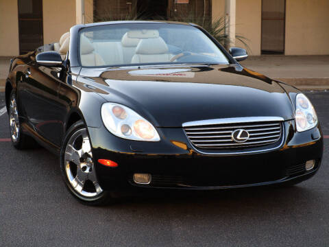 2002 Lexus SC 430 for sale at Ritz Auto Group in Dallas TX