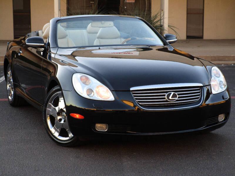 2002 Lexus SC 430 for sale at Ritz Auto Group in Dallas TX