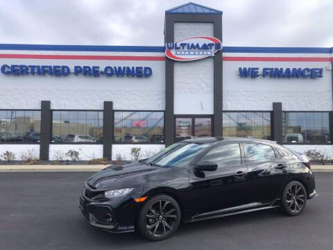 2017 Honda Civic for sale at Ultimate Auto Deals DBA Hernandez Auto Connection in Fort Wayne IN