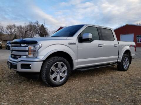 2018 Ford F-150 for sale at A & B Auto Sales in Ekalaka MT