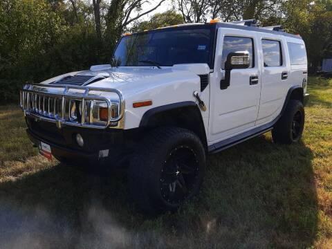 2006 HUMMER H2 for sale at LA PULGA DE AUTOS in Dallas TX
