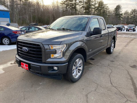 2017 Ford F-150 for sale at AutoMile Motors in Saco ME