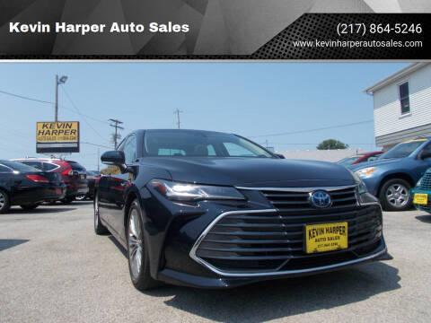 2019 Toyota Avalon Hybrid for sale at Kevin Harper Auto Sales in Mount Zion IL