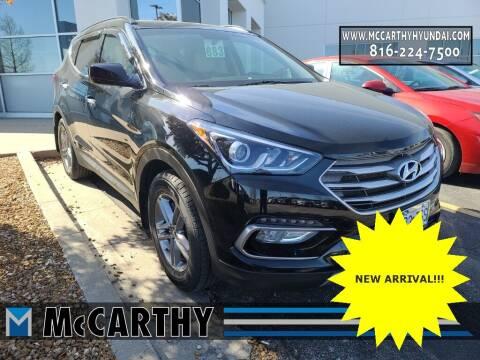 2017 Hyundai Santa Fe Sport for sale at Mr. KC Cars - McCarthy Hyundai in Blue Springs MO