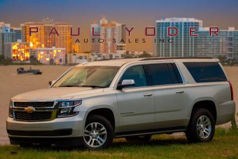 2016 Chevrolet Suburban for sale at PAUL YODER AUTO SALES INC in Sarasota FL