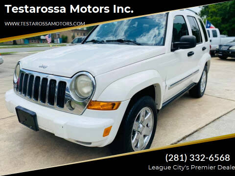 2005 Jeep Liberty for sale at Testarossa Motors Inc. in League City TX