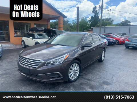 2017 Hyundai Sonata for sale at Hot Deals On Wheels in Tampa FL