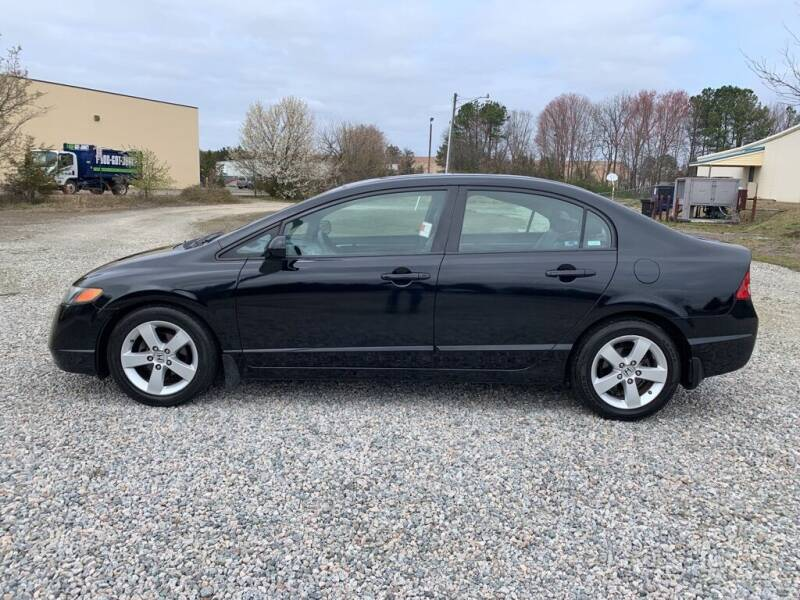 2008 Honda Civic for sale at MEEK MOTORS in North Chesterfield VA