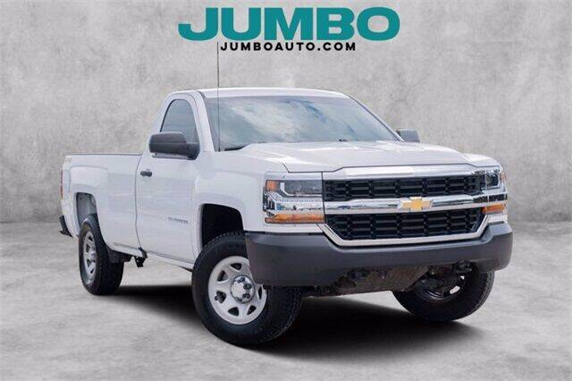 2018 Chevrolet Silverado 1500 for sale at Jumbo Auto & Truck Plaza in Hollywood FL