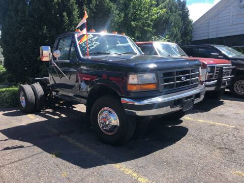 1996 Ford F-450 for sale at Connecticut Auto Wholesalers in Torrington CT