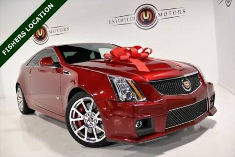 2014 Cadillac CTS-V for sale at Unlimited Motors in Fishers IN