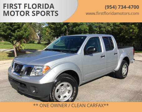 2011 Nissan Frontier for sale at FIRST FLORIDA MOTOR SPORTS in Pompano Beach FL