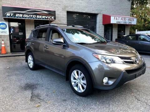 2015 Toyota RAV4 for sale at RT28 Motors in North Reading MA