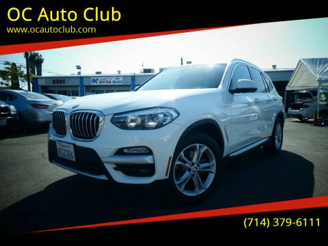 2019 BMW X3 for sale at OC Auto Club in Midway City CA