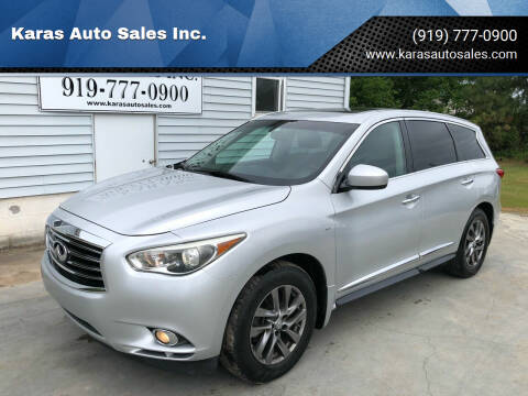 2014 Infiniti QX60 for sale at Karas Auto Sales Inc. in Sanford NC