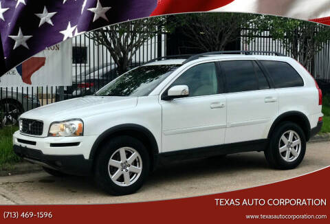 2007 Volvo XC90 for sale at Texas Auto Corporation in Houston TX