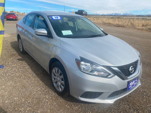 2018 Nissan Sentra for sale at 4X4 Auto in Cortez CO