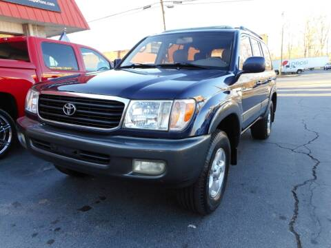 2002 Toyota Land Cruiser for sale at Super Sports & Imports in Jonesville NC
