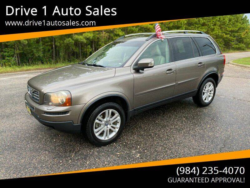 2011 Volvo XC90 for sale at Drive 1 Auto Sales in Wake Forest NC