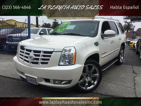 2009 Cadillac Escalade for sale at LA PLAYITA AUTO SALES INC in South Gate CA