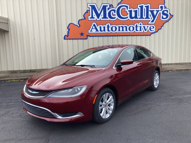 2015 Chrysler 200 for sale at McCully's Automotive - Under $10,000 in Benton KY