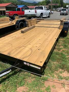 2020 TRIPLE CROWN 7X20 Flatbed for sale at M&L Auto, LLC in Clyde NC