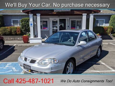 2000 Hyundai Elantra for sale at Platinum Autos in Woodinville WA