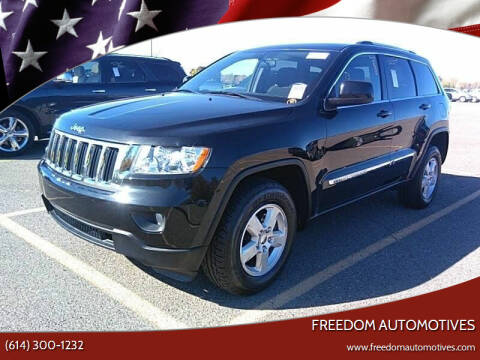 2012 Jeep Grand Cherokee for sale at Freedom Automotives in Grove City OH
