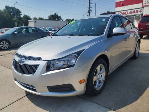 2014 Chevrolet Cruze for sale at Quallys Auto Sales in Olathe KS