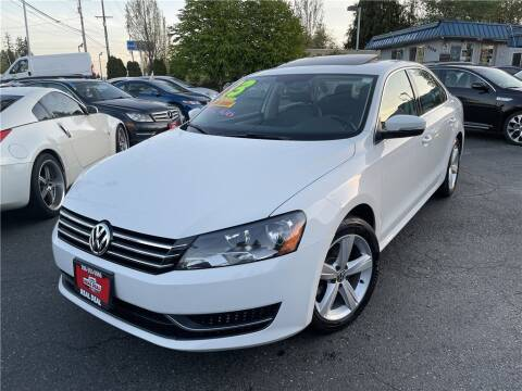 2013 Volkswagen Passat for sale at Real Deal Cars in Everett WA