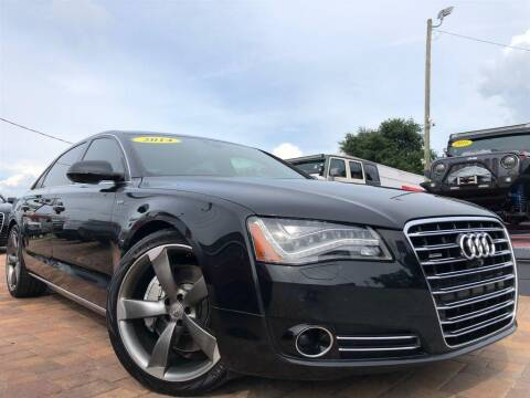 2014 Audi A8 L for sale at Cars of Tampa in Tampa FL